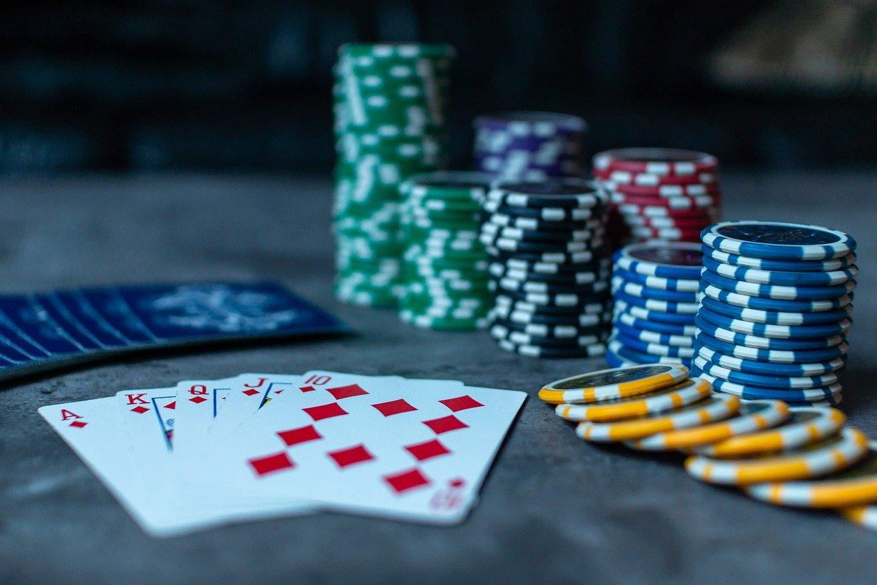 Aprender a jugar poker. Fichas