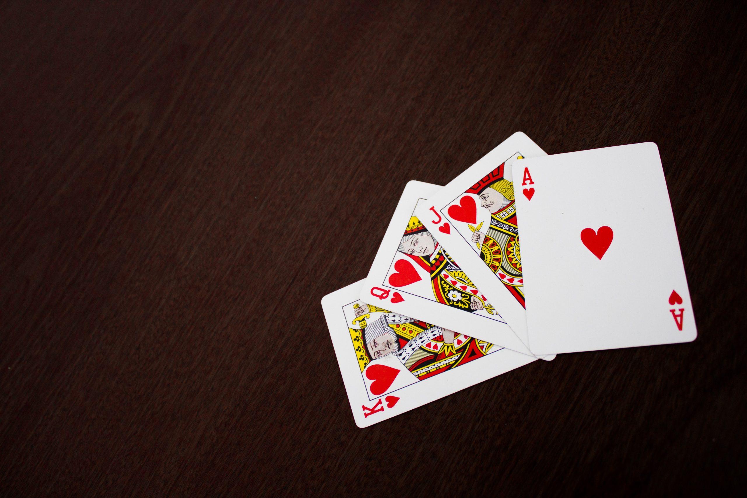 Juegos de poker. Corazones