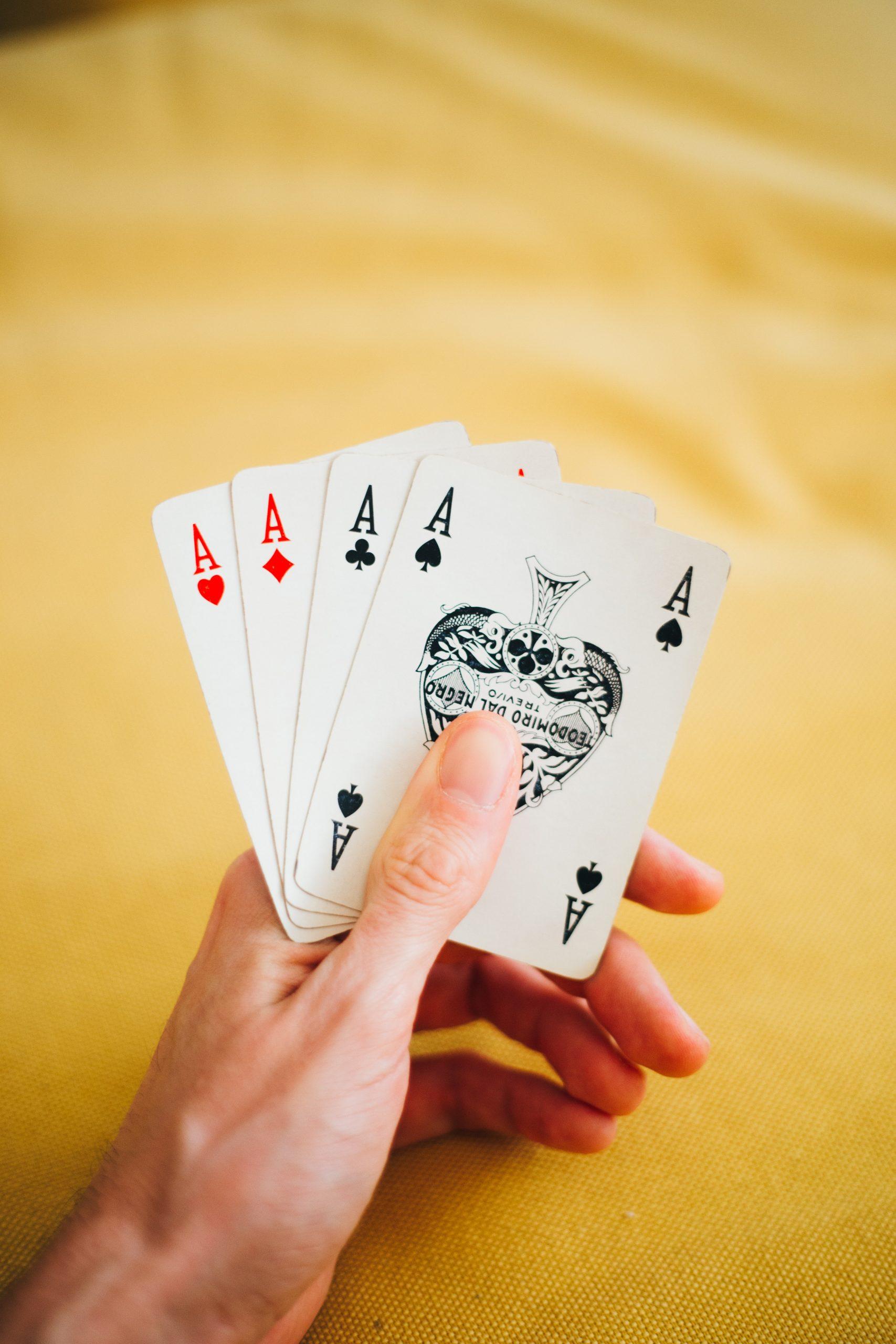 Aprender poker. Manos