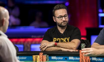 Poker online. Daniel Negreanu
