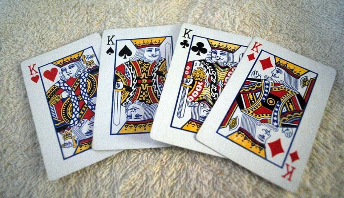 Cartas de poker. Figuras