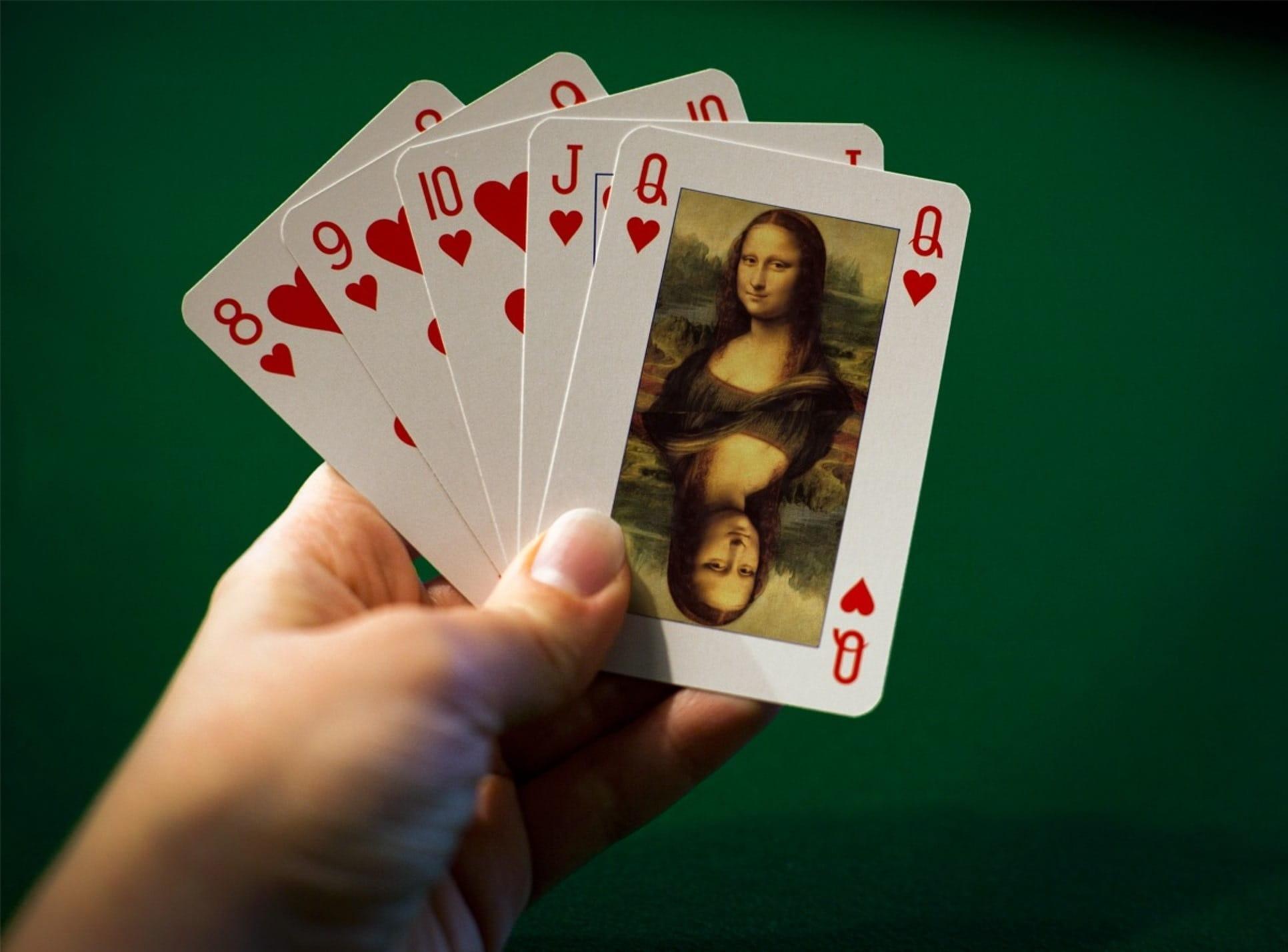 Color en el poker. Color