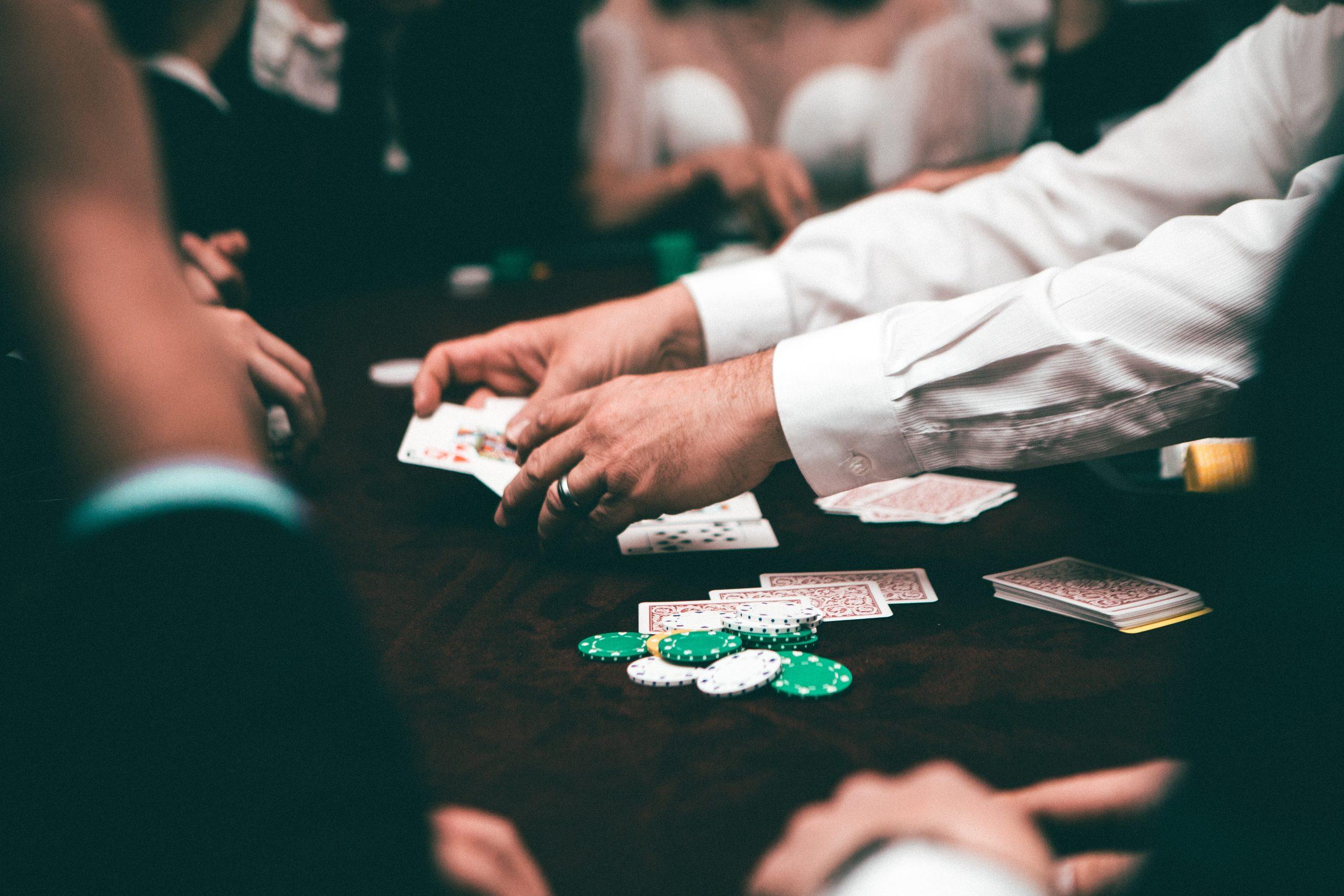 Escalera en el poker